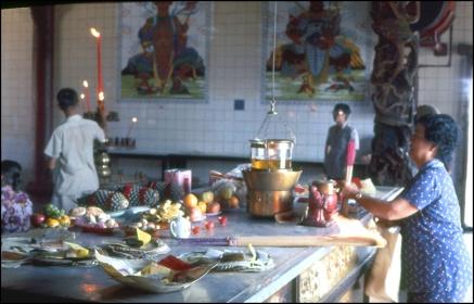 Hong Kong, Chinese Temple, 086