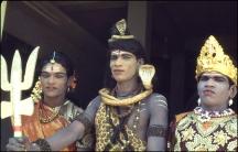 India, Eunuchs as Lkshmi, Shiva and Hanuman 242