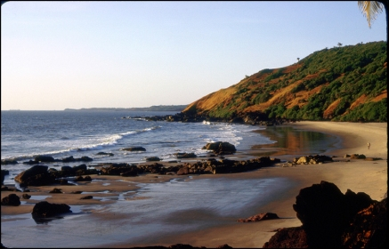 India, Goa, Vagator Beach 092