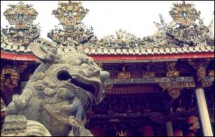 Malasya, Penang Island, Keh Lok Shee Temple
