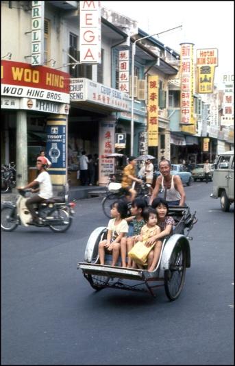 Malaysia, Rickshaw, Penang 335