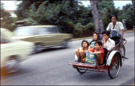 Malaysia, Rickshaw, Penang 336