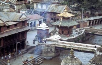Nepal, Kathmandu, Cremation Grounds 520