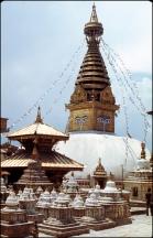 Nepal, Kathmandu Valley, Shwayambunath 478