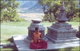 Nepal, North Face of the Himalayas, Tibetan Monastery 491