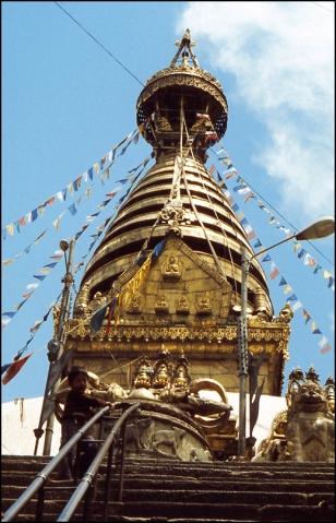 Nepal, Swayambunath