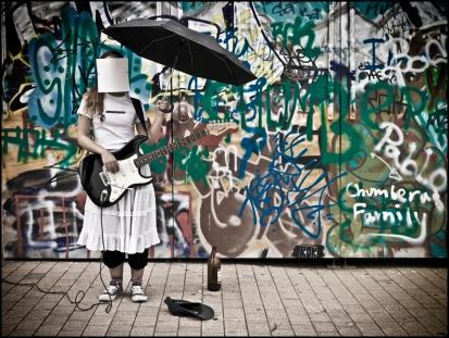 31 FACELESS SIN ROSTRO Street Music, Musica en la Calle