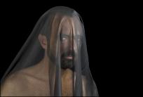 02 VEILS, VELOS Man with Veil, Hombre con Velo