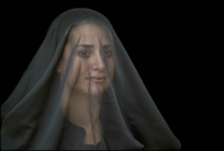 03 VEILS, VELOS Woman with Veil, Mujer con Velo
